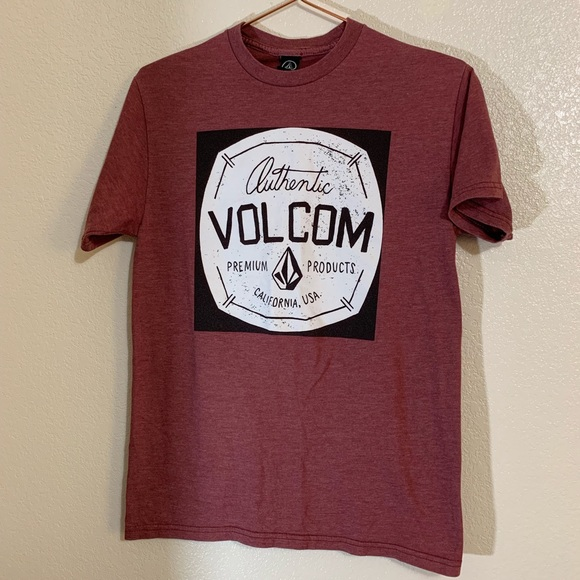 Volcom Other - Volcom | Men's Brick Red Graphic Tee Size Small